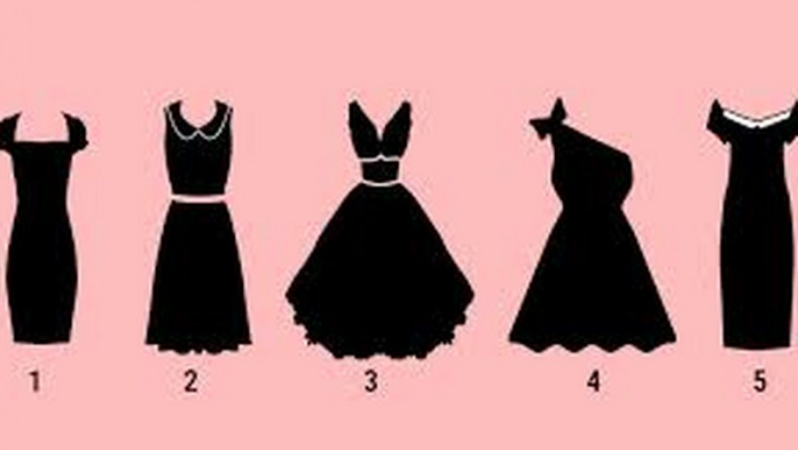 Te melyiket választanád az 5 ruha közül? Ezt jelenti!
