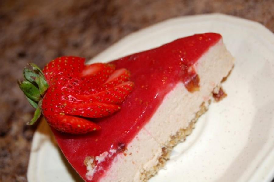 Sütés nélküli túrótorta eperzselével -mutatós és finom édesség!