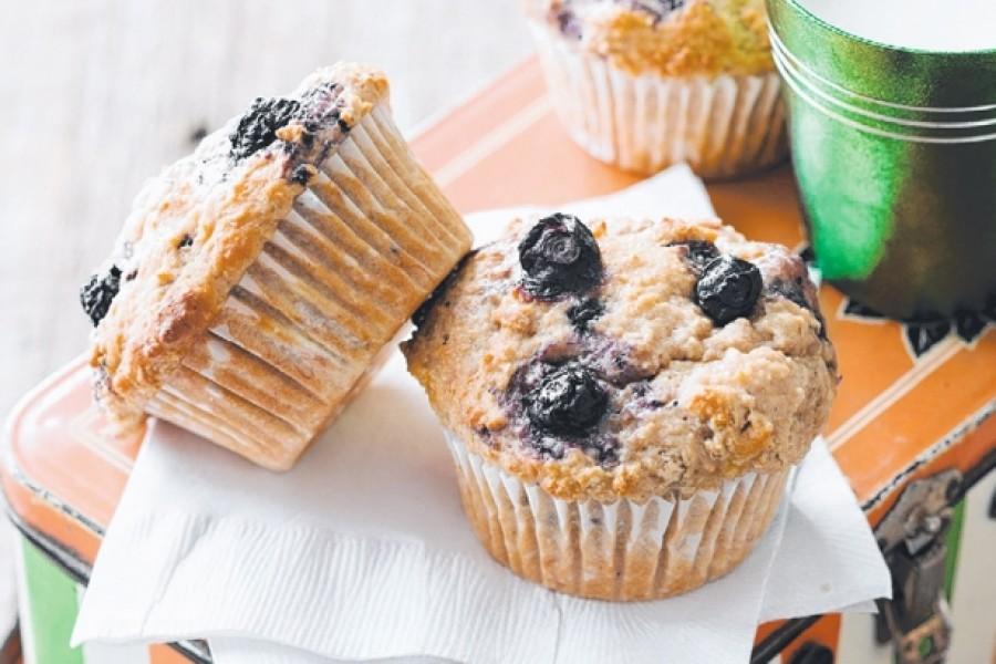 Áfonyás joghurtos muffin: igazi ínyencség!