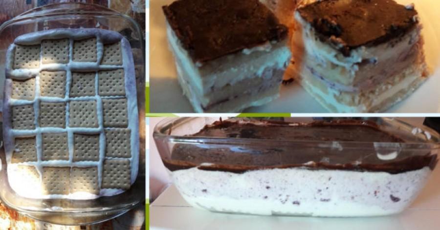 Sütés nélküli tejfölös-kekszes – nagyon hamar elfogy!