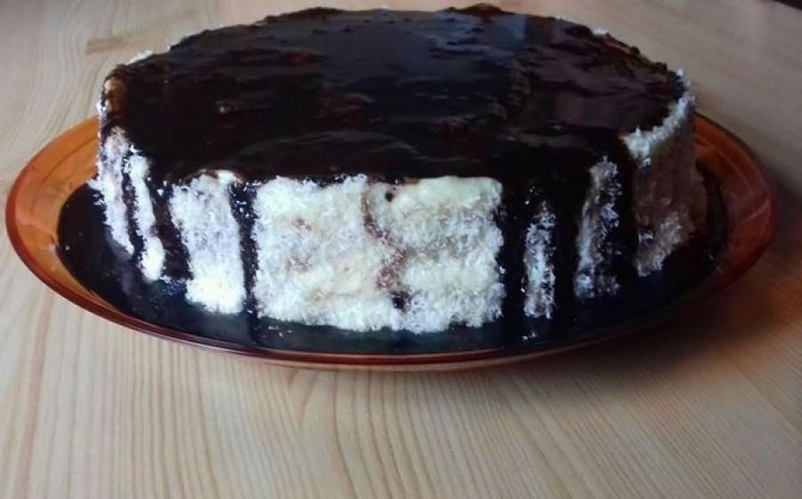 Hólabda torta, nem kell tésztát szaggatni, nincs vele sok dolog, de pont olyan finom mint a klasszikus hóladba