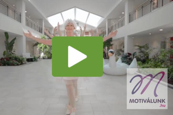 A nyugdíjas otthon lakói újraalkották Taylor Swift videóját!