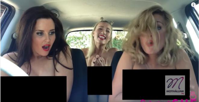3 nő ül a kocsiban és táncolnak... DE HOGY?!?!