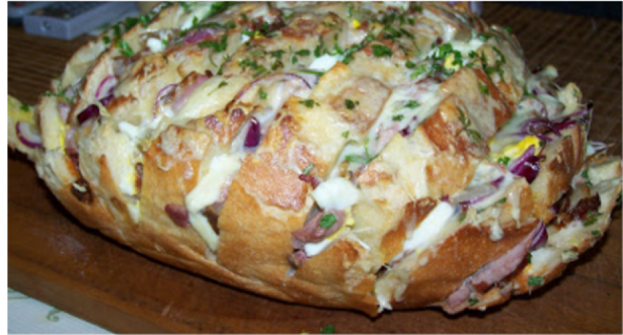 A világ legfinomabb töltött kenyere – ezt ki kell próbálni!