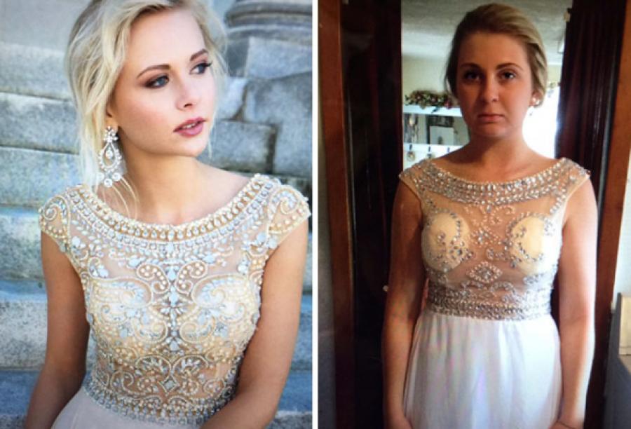 25 bizonyíték, miért ne rendelj báli ruhát online! :D