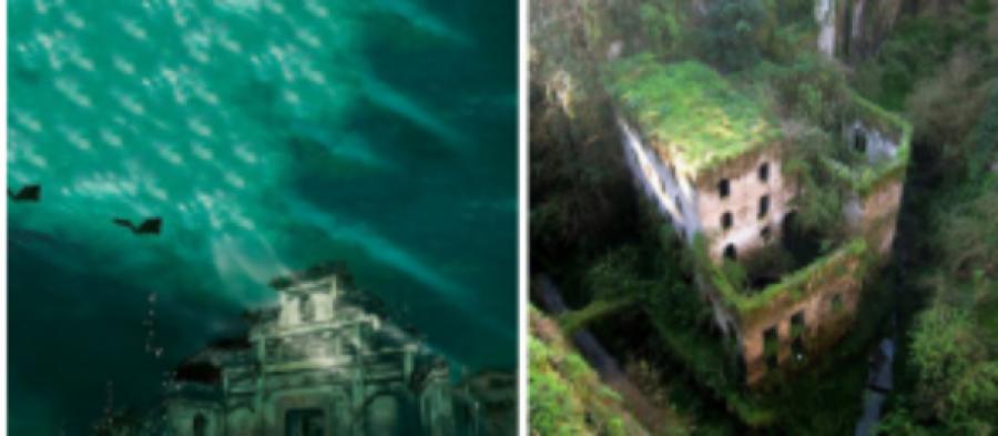 23 elhagyatott hely a Földön, amelyet mára végérvényesen legyőzött a természet!