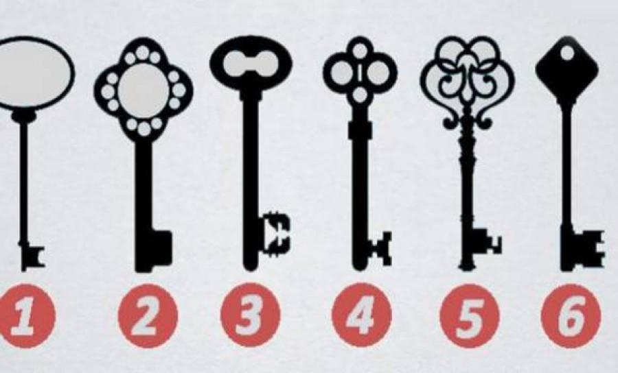 Melyik kulcsot választanád? Sokat elárul rólad!