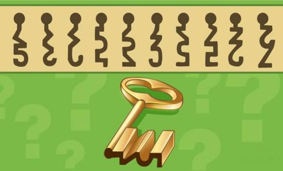 Te tudod, hogy melyik zárba illik bele a kulcs?