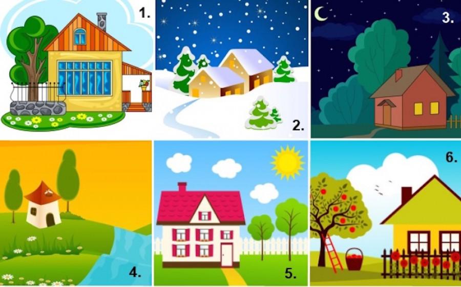Válassz egy házat és tudd meg, milyen a személyiséged!