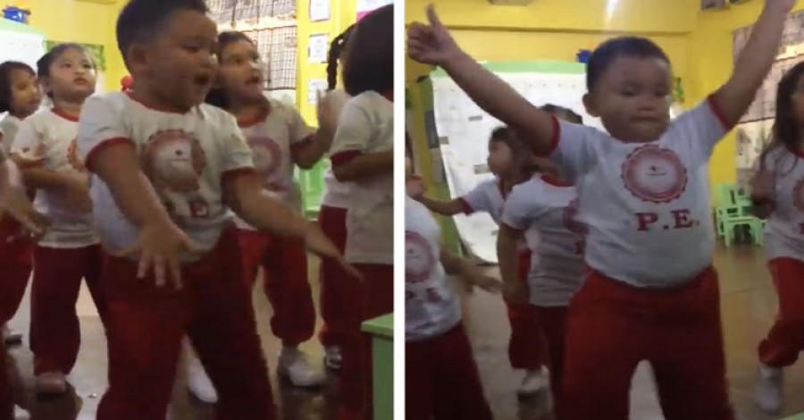 Ez a táncoló kisfiú az internet új sztárja!