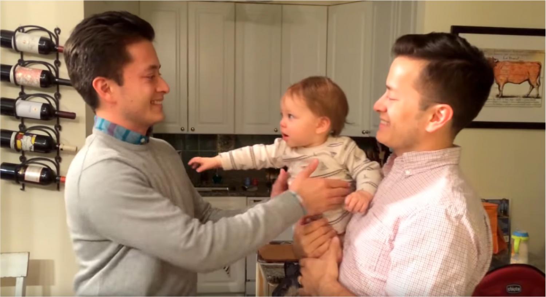Napi cukiság: Milyen az ha apának van egy ikertestvére? (videó)