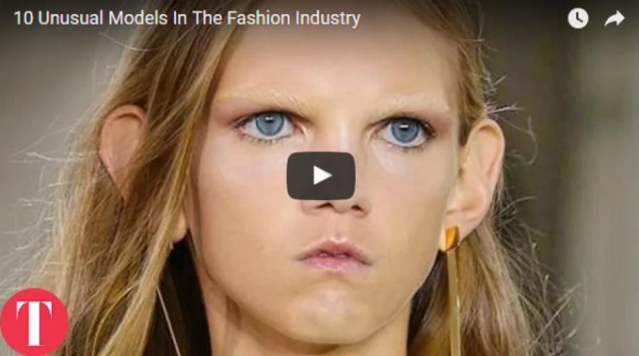 10 rendkívüli modell a divat világából!