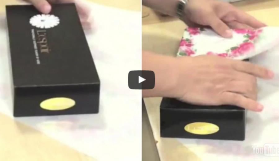 Tanulj meg ajándékot csomagolni ezzel a módszerrel, amit nagyon kevesen ismernek!