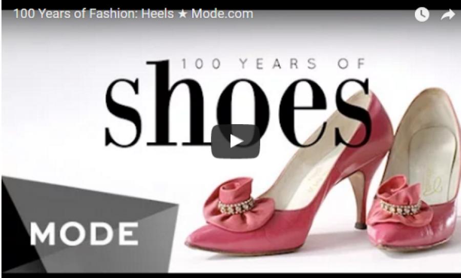 A cipők evolúciója három percben!